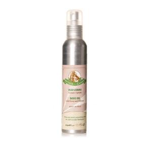 Body Oil with Citruses & Hemp Oil