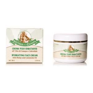 Face Cream with Hemp Oil & Calendula