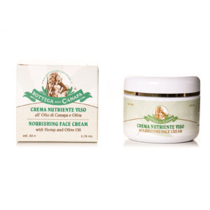 Face Cream with Hemp & Olive Oil